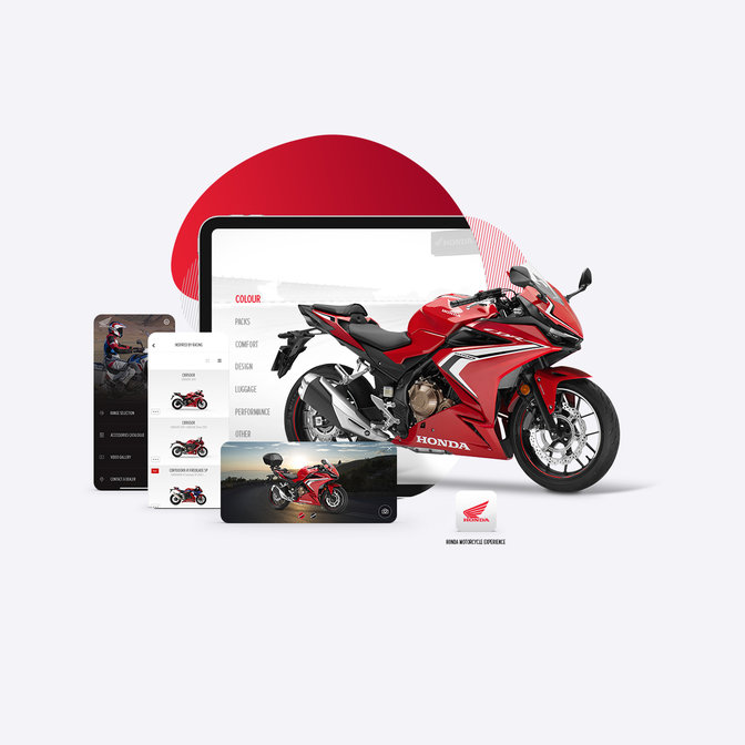 Honda Motorcycles Europe-App