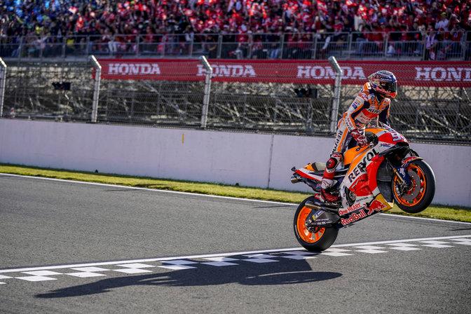 Marc Márquez gewinnt seinen fünften FIM MotoGP Weltmeistertitel