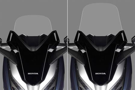 Honda Forza 300 - elektrisch verstellbares Windschild