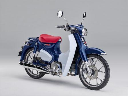 Honda Motorräder auf der Mondial Paris und der Intermot in Köln: Super Cub 125