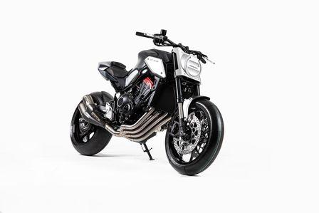 Honda Motorräder auf der Mondial Paris und der Intermot in Köln: Neo Sports Cafe